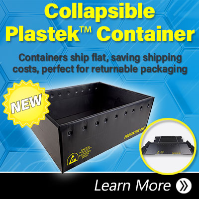 Collapsible Plastek Container