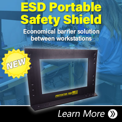 ESD Portable Safety Shield